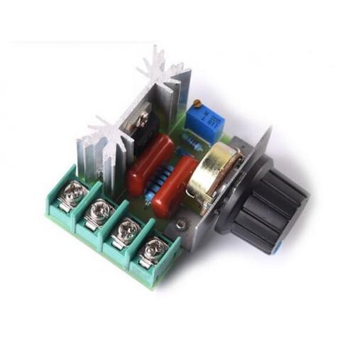 2000 W Voltage Regulator Escurecimento Dimmers Velocidade Controlador