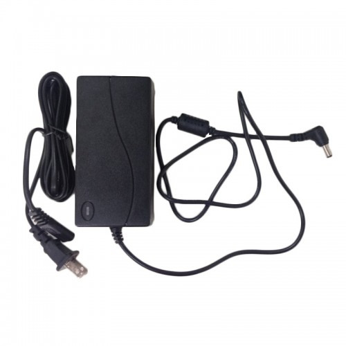 Black AC DC Power Supply Adapter For Photography lights