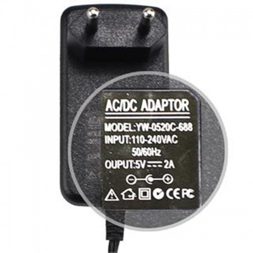 Black Color 5V AC Adapter Power supply for Q8