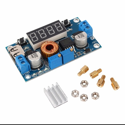 Digital Control Adjustable Step down Module Step Down Modules with Voltmeter Ammeter