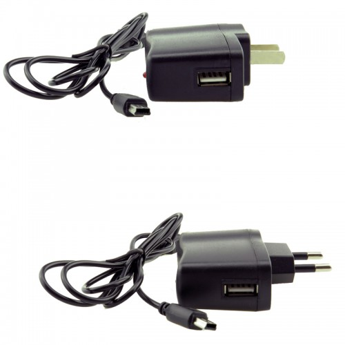 EU USB Power Adapter Travel Charger Compatible with the Tecsun radios