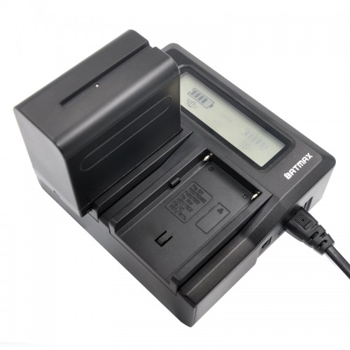 Universal Camera Battery Dual Charger kit for Sony NP