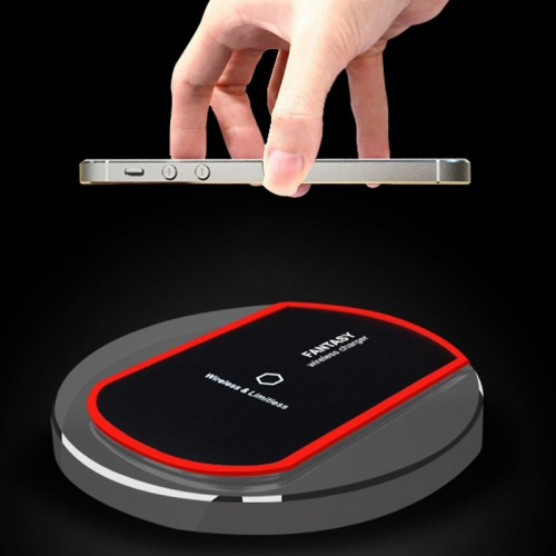 Briame Qi Wireless Charger Charging for iphone 5 5S 6S 6S SAMSUNG GALAXY S6 Edge
