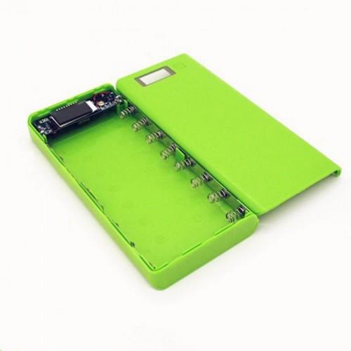 High Quality 5V Dual USB 18650 Power Bank Battery Box Mobile