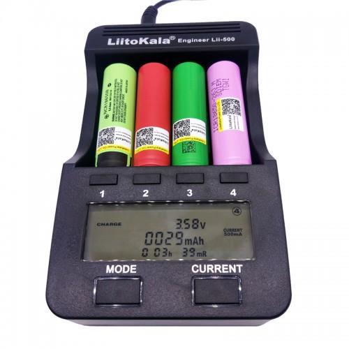 LCD 3 7V 1 2V 18650 26650 16340 14500 10440 18500 Battery Charger