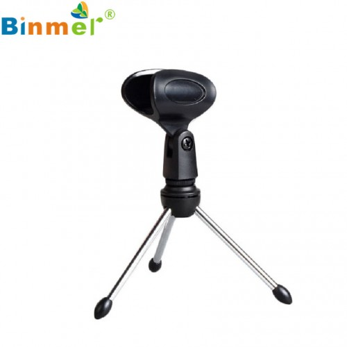Adroit Adjustable Metal Desk Top Mic Microphone Clamp Clip Holder Stand Tripod drop shipping