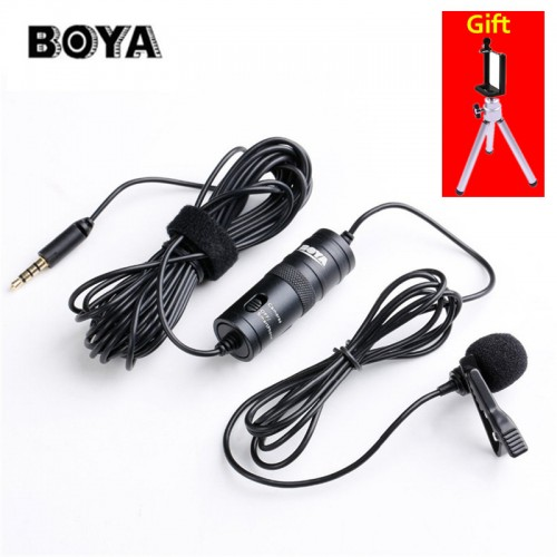 Omnidirectional Camera Lavalier Condenser Microphone
