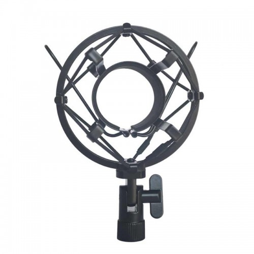 Universal Microphone Shock Mount Clip Holder Metal Shock Mount Microphone Stand Mic Shock Mount Bracket Holder