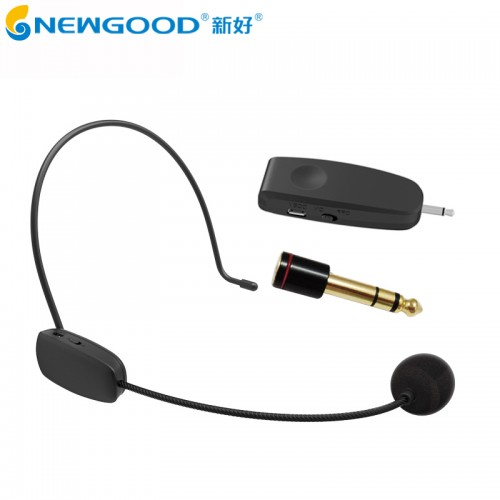 Wireless Microphone Headset Megaphone Handheld Portable for Speach Conference