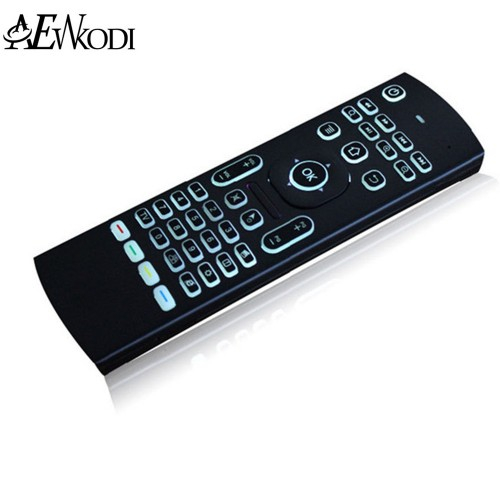 Air Mouse Backlight MX3 Wireless Keyboard IR Learning Fly Air Mouse Backlit