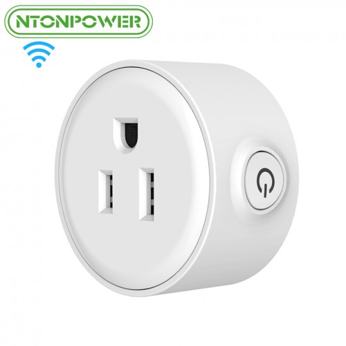 Mini Smart Wifi Socket US Plug Remote Control Power Strip Timing Switch for Smart