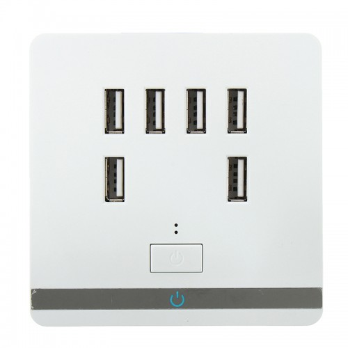 USB Port Standard Wall Electrical Socket Wall Charger Outlet Power Adapter Faceplate