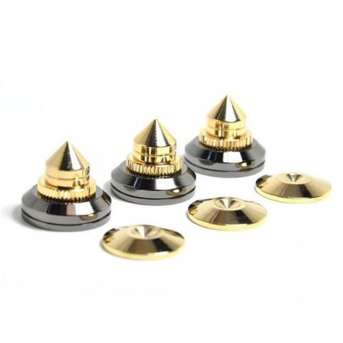 Copper Audio Tripod Rack Speaker Spikes Shock Speaker Sound Isolation Feet Speaker Spikes