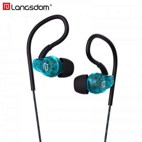 Original Langsdom Stereo Sport Earphones for Phone In ear Phone Earphone with Microphone Sports Headset