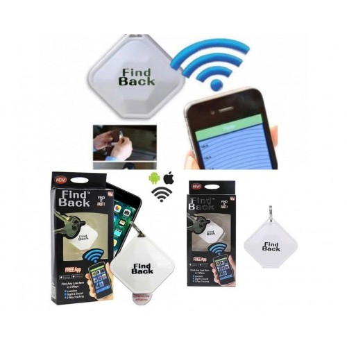 Find Back Mini Bluetooth Anti-Lost Location Sight Sound Key Finder For Any Smartphone