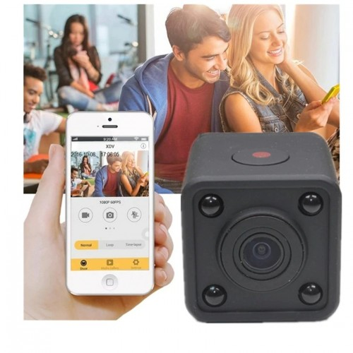 1080P HD Mini Wifi Camera Home Security IR P2P Night Vision Mobile Monitoring Real-time View