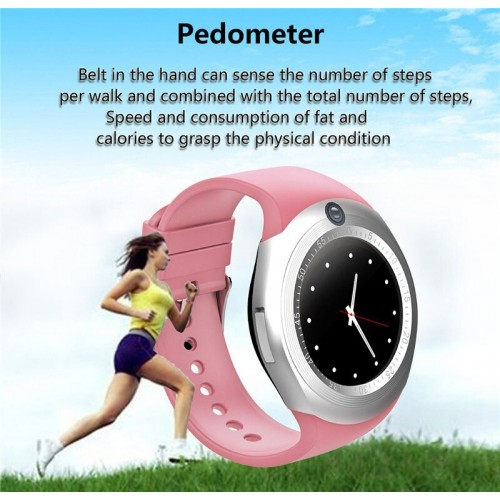 Smart Watch Round With Camera Business Watch for Women Men Kids Boys Girls
