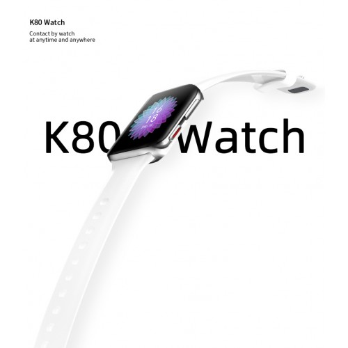 K80 Smartwatch Touchscreen Bluetooth Call Music Control Heart Rate Blood Oxygen Monitoring Watch