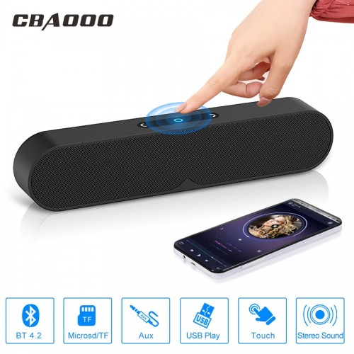 CBAOOO Speakers Wireless Bluetooth Speaker Portable subwoofer 3D Outdoor Stereo Speaker for 3 5mm interface TF