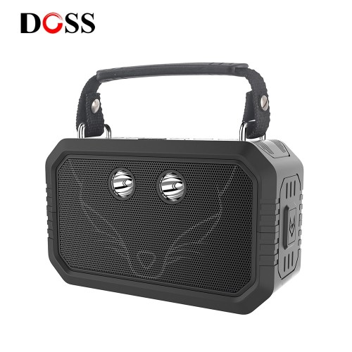 DOSS Traveler Outdoor Bluetooth V4 0 Speaker Waterproof IPX6 Portable Wireless Speakers 20W Stereo with Bass