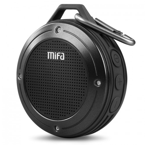 MIFA Portable bluetooth Speaker Shock Resistance IPX6 Waterproof Speaker with Bass Wireless Bluetooth 4 0 TF