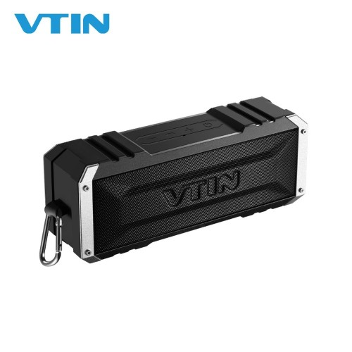 VTIN Punker Portable Wireless Bluetooth Speaker 20W Output Dual 10W Drivers Outdoor Waterproof Speaker with Mic