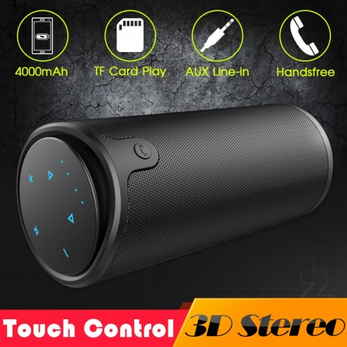 ZEALOT S8 3D Stereo Bluetooth Speaker Wireless Subwoofer Column Portable Touch Control AUX TF Card Playback