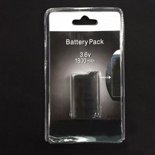 1800mAh Rechargeable Battery Power Pack Replacement for Sony PlayStation Portable PSP 1000 Console