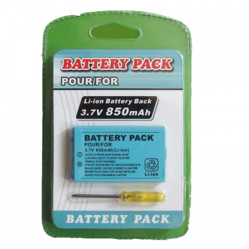 850mAh Rechargeable Battery Power Pack Replacement with tool For Gameboy Advance