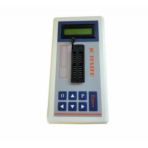IC Transistor Tester Detect Meter Maintenance Digital led Tester Battery
