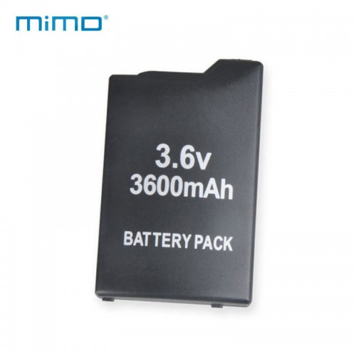 Just for Sony PSP Battery SLIM 2000 3000 Replacement Rechargeable 3600mAh