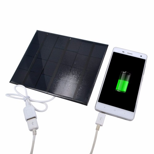 Solar Power Panel Charger USB Portable Solar Charger Device Solar Panel to Phone