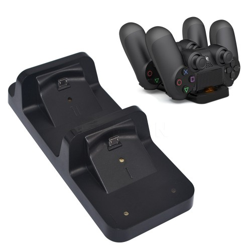 Charging Base Dock Station Stand for PlayStation Game Controller Black Charger