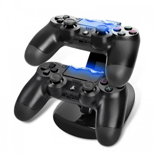 Dual USB Charging Dock Docking Charger Cradle Station Stand for Sony Playstation Game