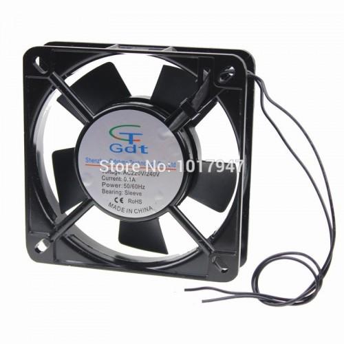 Gdstime 2wire  25mm Metal Industrial Fan Ventilator