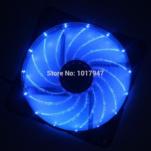 Hydraulic Blue LED PC Computer Case Heatsink Cooler Cooling