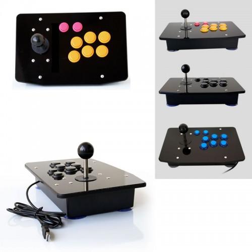 Handle Arcade Set Kits Replacement Part Arcade joystick Acrylic Panel and Case