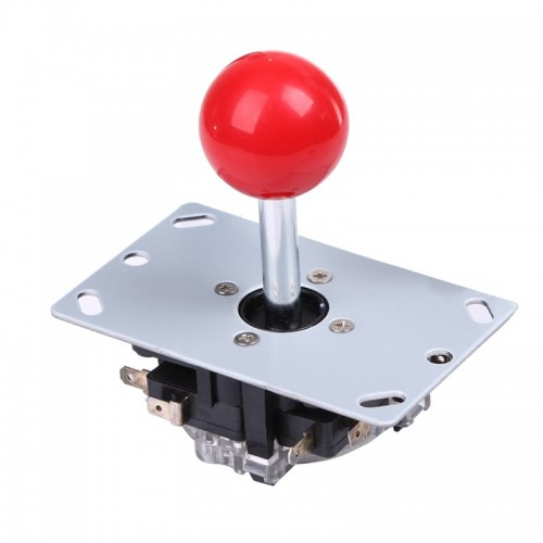 Hot Sale Classic 8 way Arcade Game Joystick Ball Joy Stick Red Ball Replacement Newest