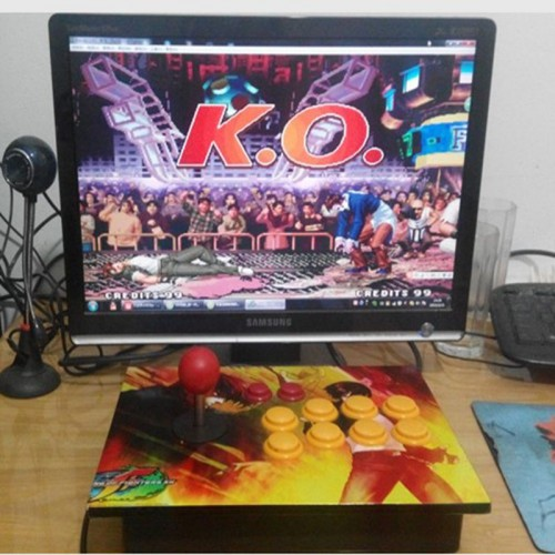 No delay arcade joystick rocker USB computer pc arcade game handle game machine accessories kof 97