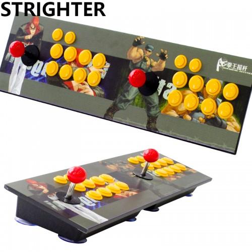 arcade joystick pc computer game Joystick Consoles usb Stationary Double Consoles