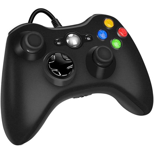 Xbox 360 Wired Controller Dual-Vibration Turbo For Console and PC Windows