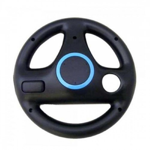Black Steering Wheel For Nintendo Wii Mario Kart Racing Top Quality Games Remote