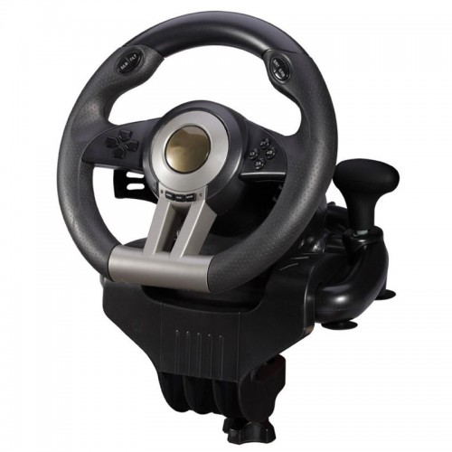 Game accessory second generation simulation automobile race vibration computer games steering wheel Learning