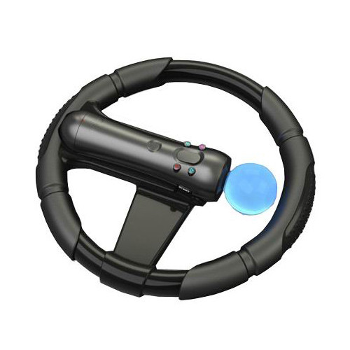 Steering Racing Wheel Move Motion Controller Joypad for Sony PS PS3 Racing Game