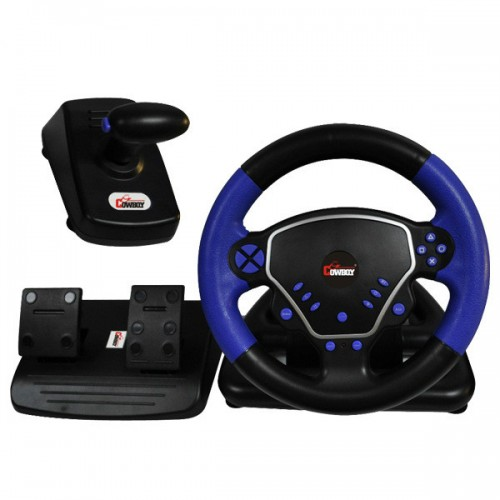 Three in one game steering wheel racing steering wheel
