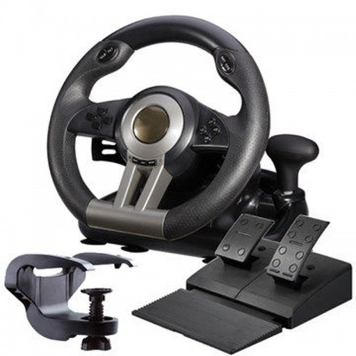 simulation automobile race vibration pc usb computer game steering