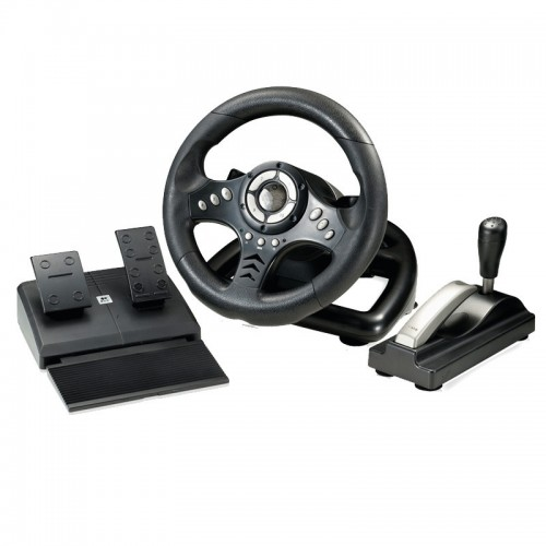 vibration racing computer games adjust sensitivity PC game steering wheel Learn simulation to drive