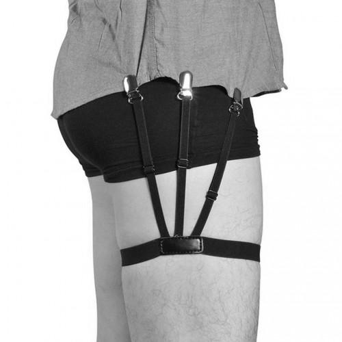 Shirt Stays Clip for Both Men And Women Formal Wear Shirt Tops Clip-Leg Ring Garter
