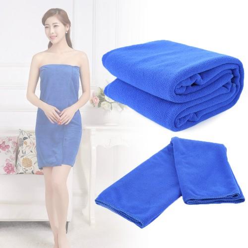 Bath Accessories Quick Dry Bathrobe Absorbent Microfiber Home Beach Hotel Towel Drying Washcloth Swimwear 70x140cm Luxury