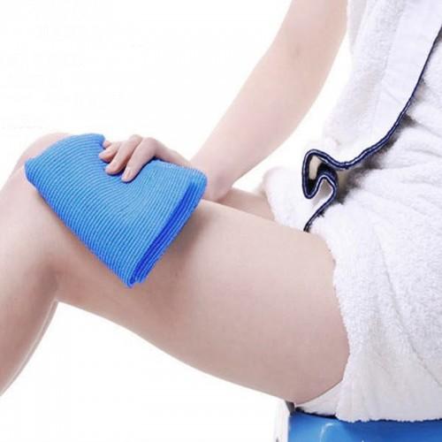 Mesh Bath Shower Body Scrubbing Clean Wash Exfoliate Both Cloth Towel Bath Sponge Natural Exfoliating